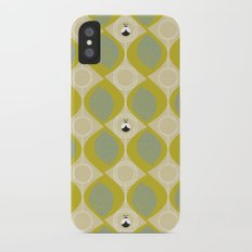 leaves and bugs iPhone X Slim Case