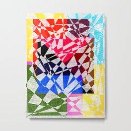 colors drawing Metal Print