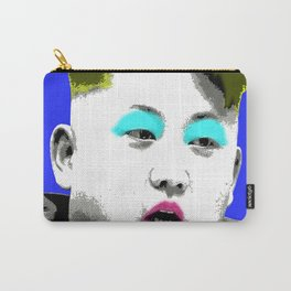 Marilyn Jong Un - Blue Carry-All Pouch