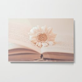 Serenity Of Books Metal Print
