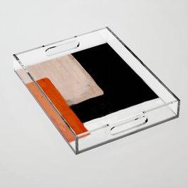 abstract minimal 14 Acrylic Tray