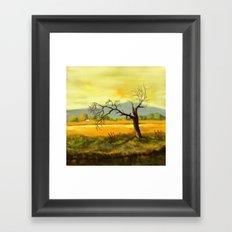 Leafless Tree Framed Art Print