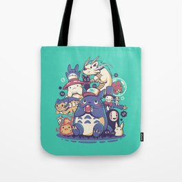 Creatures Spirits and friends Tote Bag