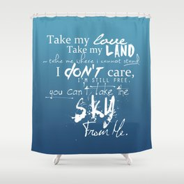 Firefly The Ballad Of Serenity Shower Curtain