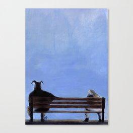 Sulk Canvas Print