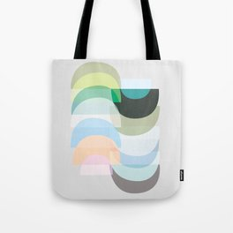 Pastel Geometry 3 Tote Bag