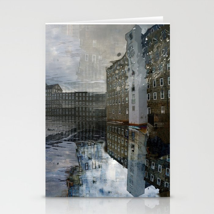 Newmarket Mills Abstraction Stationery Cards
