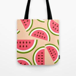 Watermelon pattern Tote Bag