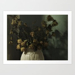 Decay… Art Print
