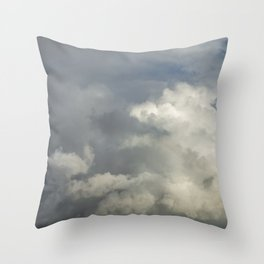 Stormy Clouds Throw Pillow