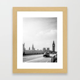 Parliament Walk Framed Art Print