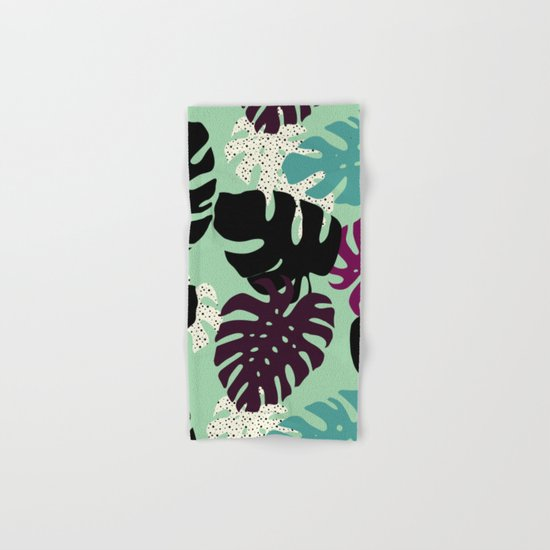 Monstera 02 Hand & Bath Towel