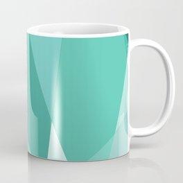 Minty Jagged Edges Coffee Mug