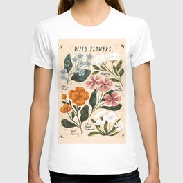 Wild Flowers ~ vol2. T-shirt