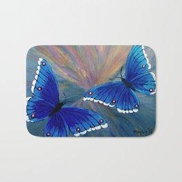 Butterflies-2  Bath Mat