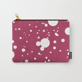 White dots Carry-All Pouch