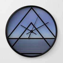 SILVER 9 Wall Clock