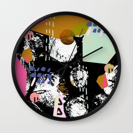 Spiralling out of control Wall Clock