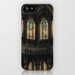 Gothic Windows iPhone Case