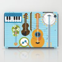 the mortal instruments iPad Cases featuring Simply Instruments by Paige Design, Inc.
