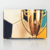 world cup iPad Cases featuring world cup trophy by franckreporter