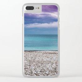 Milna on Hvar island Clear iPhone Case