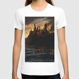 Harry Potter - Hogwart's Burning T-shirt
