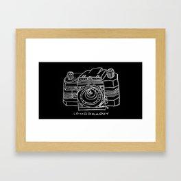 konstruktor camera Framed Art Print