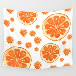 Orange You Happy Wall Tapestry