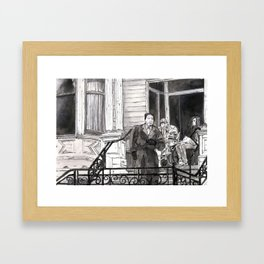 In the Middle of Nowhere Framed Art Print