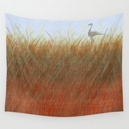 Autumn Marsh Wall Tapestry