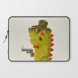 Dino bandito (olive) Laptop Sleeve