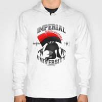 skyrim Hoodies featuring Imperial University(Skyrim) by Chubbybuddhist