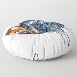 Doberman Head Floor Pillow