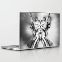 angels Laptop & iPad Skins featuring Angels by haroulita