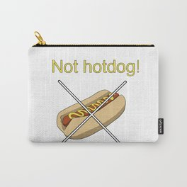 Not Hotdog Carry-All Pouch