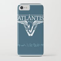 stargate iPhone & iPod Cases featuring Stargate Atlantis by Winter Graphics