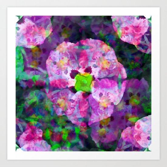 Thursday 4 April 2013: ever temperable by means of artificial enhancement Art Print