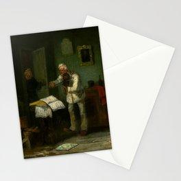 Leonid Solomatkin - A fiddler Stationery Cards