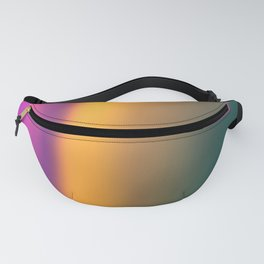 Blurred color Fanny Pack