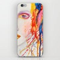 splatter iPhone & iPod Skins featuring Splatter by Funkygirl4ever95