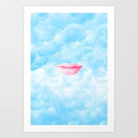 Superior thinking at best Art Print