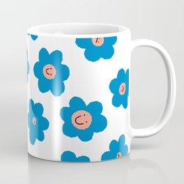 Daisy Flower Pattern Coffee Mug