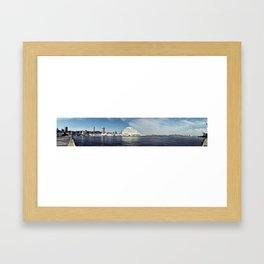 Kobe Port Panorama Framed Art Print