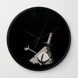 Statue Bill Wall Clock