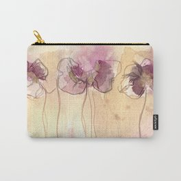 Fragrance - Abstract Flowers Watercolour Carry-All Pouch