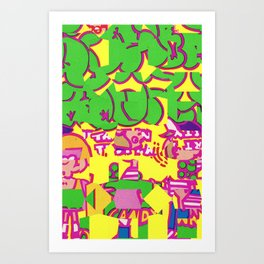 Super Sour Art Print