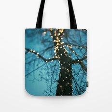 Bokeh tree. Tote Bag