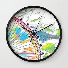 I Dream of Ferris Wheel Wall Clock