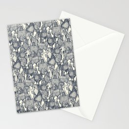 just chickens indigo pearl Stationery Cards